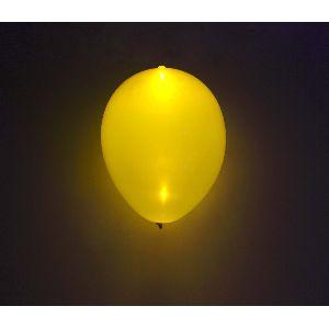 Globos con luz led 5 und amarillos