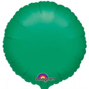 Globo helio circulo verde
