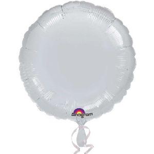 Globo helio circulo plata