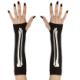 Guantes mitones huesos