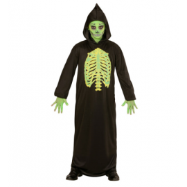 Disfraz muerte toxica infantil