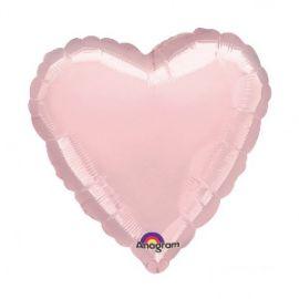 Globo helio corazon jumbo rosa