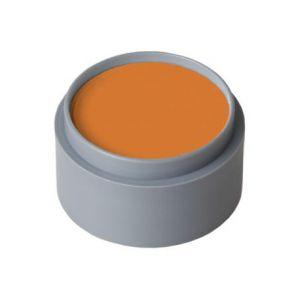 Maquillaje profesional al agua naranja