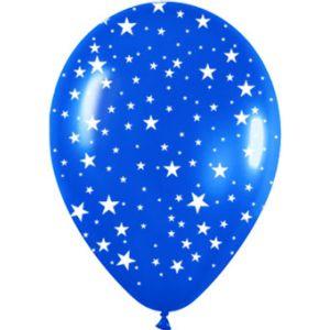 Globos pequeños estrellas 10 und