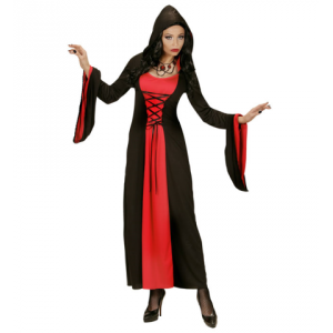 Disfaz dama gotica rojo negro