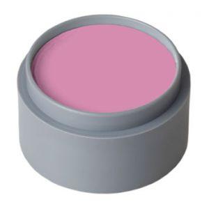 Maquillaje profesional al agua rosa clar