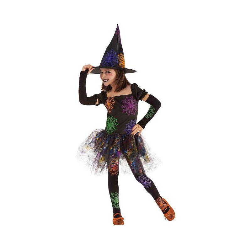 Disfraz bruja telaraña infantil - Barullo.com 457dd876632
