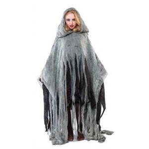 Disfraz poncho zombie adulto unisex