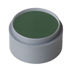 Maquillaje profesional al agua verde pino