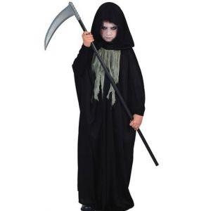 Disfraz muerte capa infantil