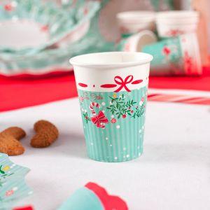 Vasos dulce navidad 10und