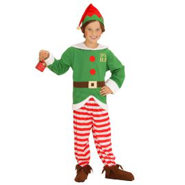 Disfraz elfo infantil navidad