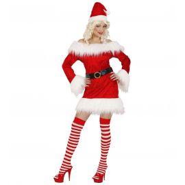 Disfraz miss santa navidad
