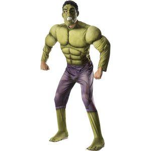 Disfraz hulk musculoso