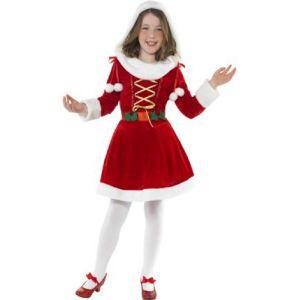 Disfraz Mama Noel lujo niñas de 4 a 12 años