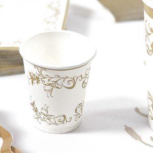 Vasos chupito detalle oro