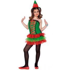 Disfraz elfa niña