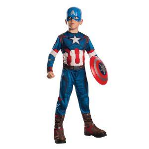 Disfraz Capitan América Era de Ultrón con escudo