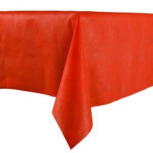 Mantel lujo rojo 140x240