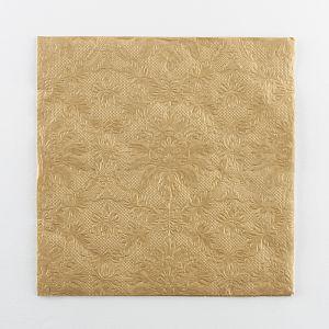 Servilletas doradas detalle elegantte 16