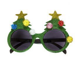 Gafas árbol de navidad