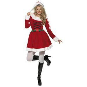 Disfraz Mama Noel lujo