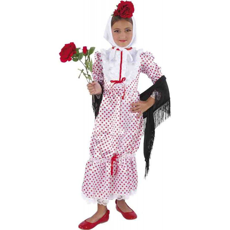 c072143ee Disfraz chulapa niña - Barullo.com