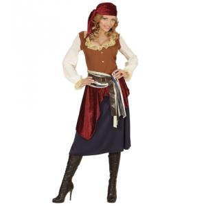 Disfraz bucanera piratesa
