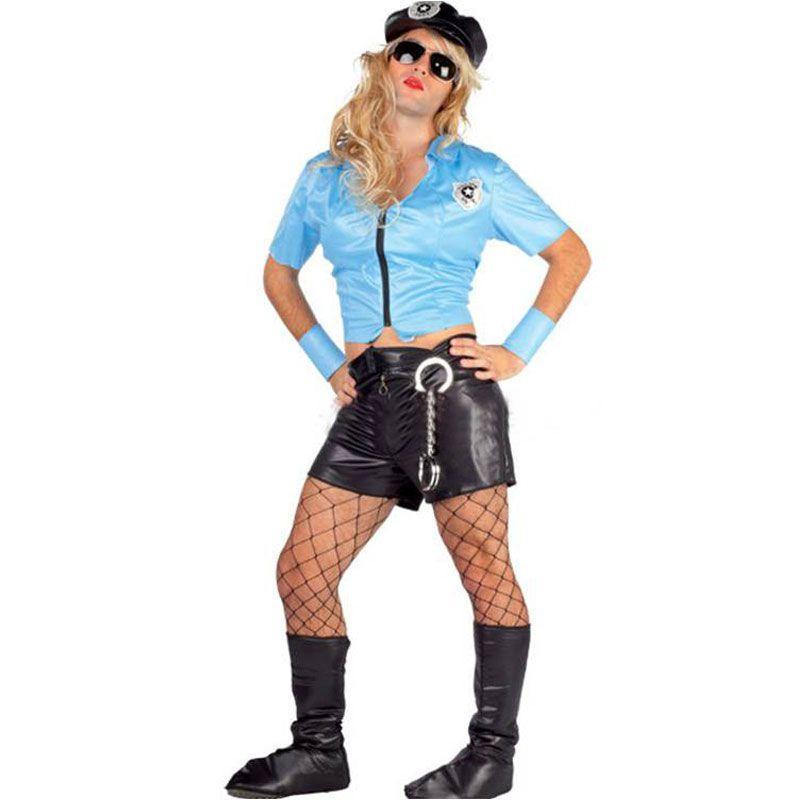 Disfraz policia sexy hombre - Barullo.com 7ff5a58d613