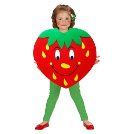 Disfraz fresa de 2 a 5 años