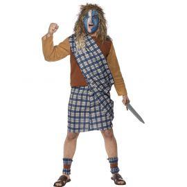 Disfraz guerrero escoces