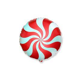 Globo helio caramelo rojo
