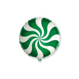 Globo helio caramelo verde