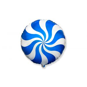 Globo helio caramelo azul