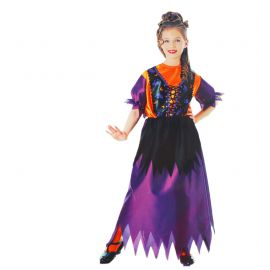 Disfraz bruja sencilla infantil