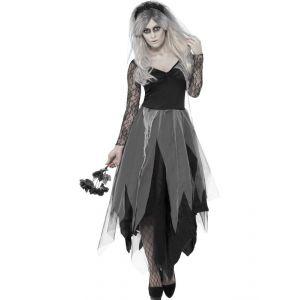 Disfraz novia fantasma chica
