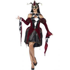 Disfraz veneciana gotica