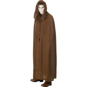 Capa capucha marron