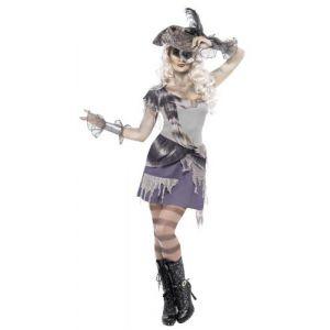 Disfraz piratesa fantasma sexy