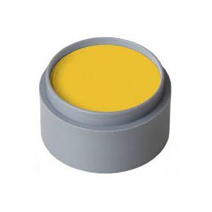 Maquillaje profesional amarillo indio