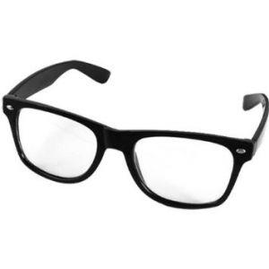 Gafas cristales trasnparentes