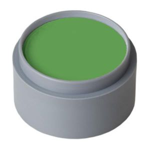Maquillaje profesional al agua verde 2