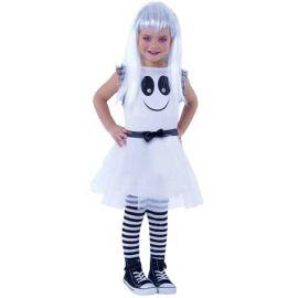 Disfraz fantasma con ojos infantil
