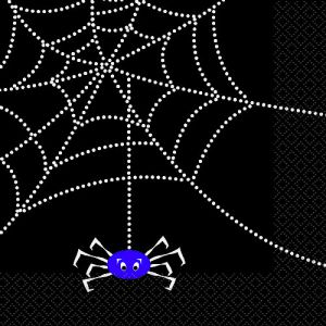 Servilletas arañas divertidas