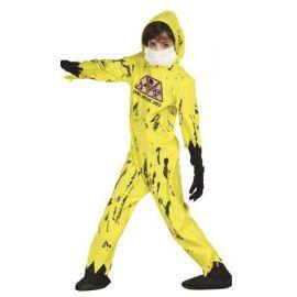 Disfraz zombie nuclear niño