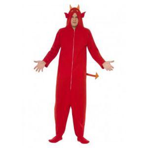 Disfraz demonio divertido adulto