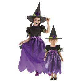 Disfraz brujita glitter infantil