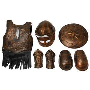 Armadura gladiador infantil 7 piezas