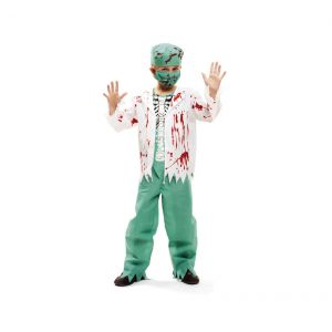 Disfraz cirujano esqueleto niño