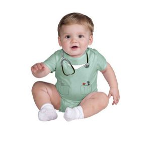 Disfraz bebe doctor 6-12 meses